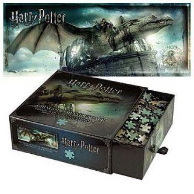 Harry potter puzzle 1000 pcs evasion de la banque gringotts