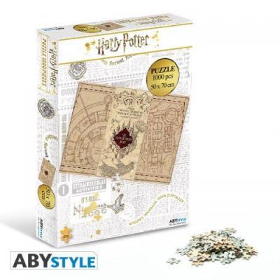 Harry potter puzzle 1000 pieces carte du maraudeur