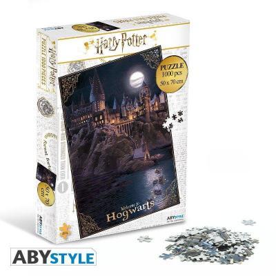 Harry potter puzzle 1000 pieces poudlard