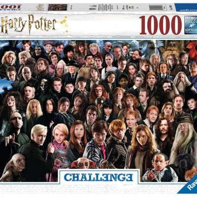 Harry potter puzzle challenge 1000p