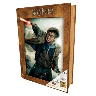 Harry potter puzzle lenticulaire 3d 300p 46x31cm