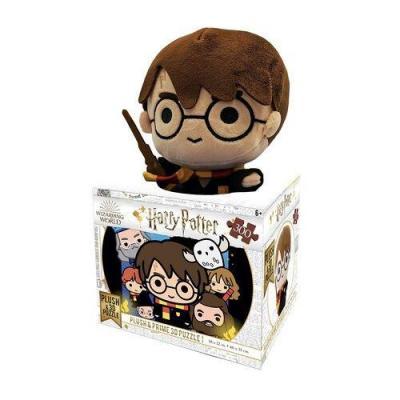 Harry potter puzzle lenticulaire 3d 300p 61x46cm peluche harry