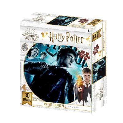 Harry potter puzzle lenticulaire 3d 500p 61x46cm