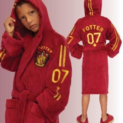 Harry potter quidditch peignoir kids