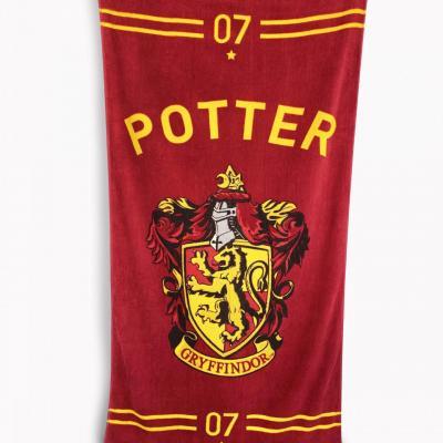 Harry potter quidditch serviette de bain 75x150cm