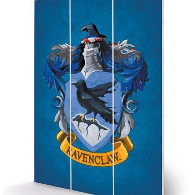 Harry potter ravenclaw crest impression sur bois 20x29 5