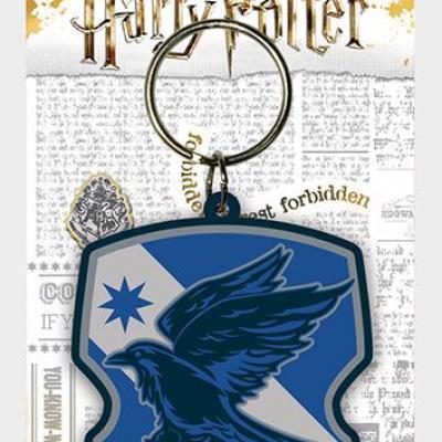 Harry potter ravenclaw porte cles caoutchouc