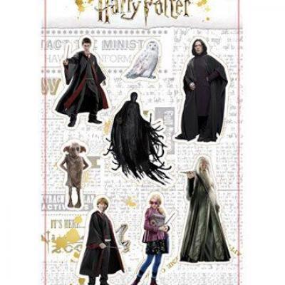 Harry potter real characters set a set d aimants