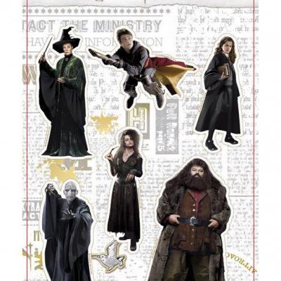 Harry potter real characters set b set d aimants