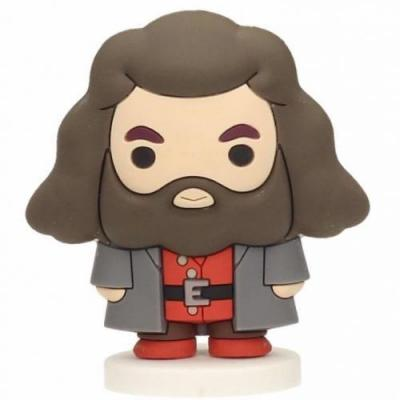 Harry potter rubber mini figure 6cm hagrid