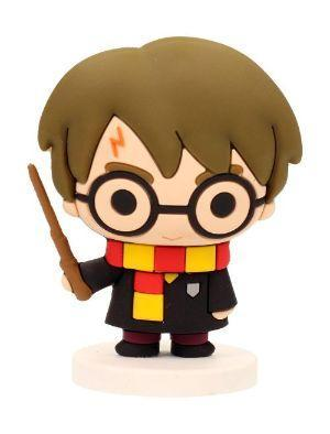 Harry potter rubber mini figure 6cm harry potter