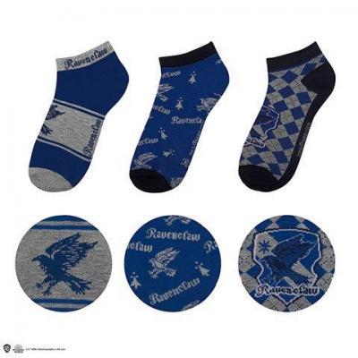 Harry potter serdaigle lot de 3 paires de chaussettes