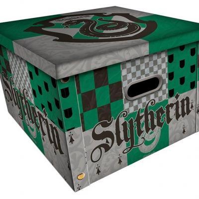 Harry potter serpentard boite de rangement 36 7 x 36 7 x 23 8cm
