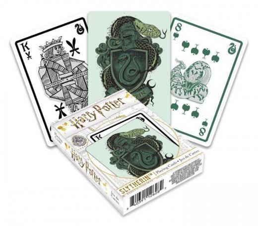 Harry potter serpentard jeu de cartes