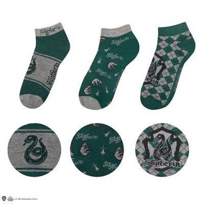 Harry potter serpentard lot de 3 paires de chaussettes
