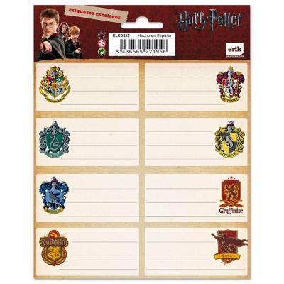 Harry potter set de 2 planches d etiquettes