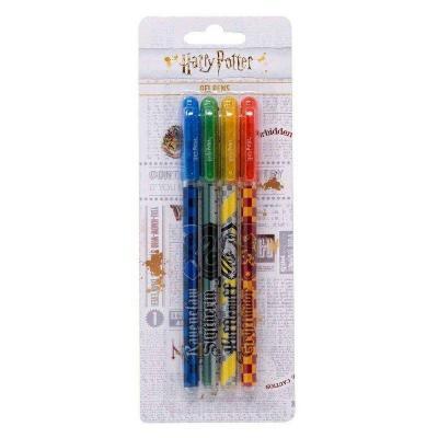 Harry potter set de 4 stylos gel