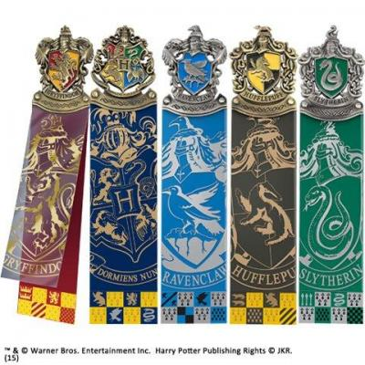 Harry potter set de 5 marque pages