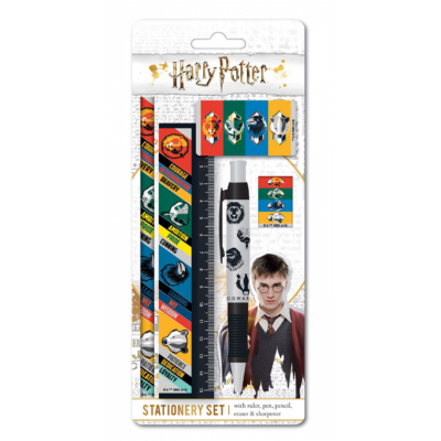 Harry potter set papeterie house traits