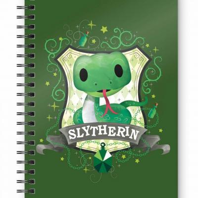 Harry potter slytherin kids cahier spirale a5