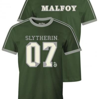 Harry potter slytherin malfoy t shirt homme