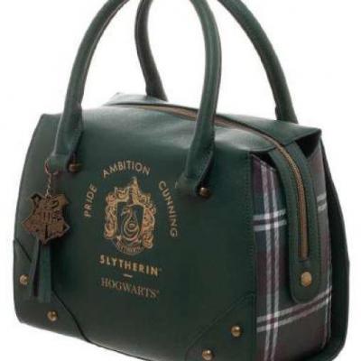 Harry potter slytherin sac a main luxury plaid top