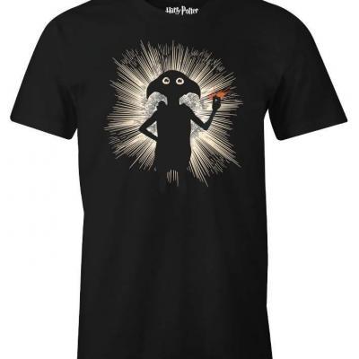 Harry potter t shirt dobby magic shadow