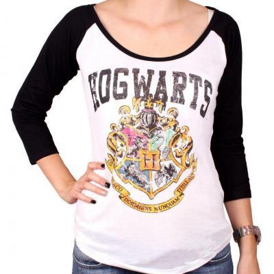 Harry potter t shirt hogwarts school girl