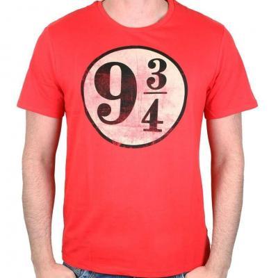 Harry potter t shirt logo grunge 9 3 4