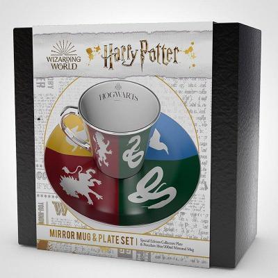 Harry potter tasse a cafe miroir et soucoupe