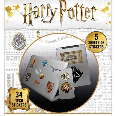 Harry potter tech stickers pack artefacts