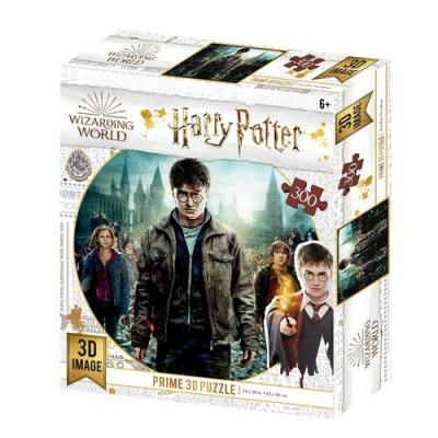Harry potter trio puzzle lenticulaire 3d 300p 61x46cm