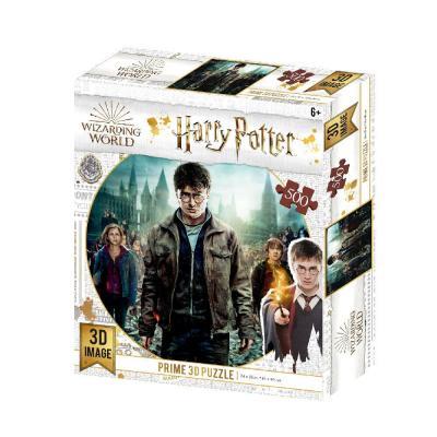 Harry potter trio puzzle lenticulaire 3d 500p 61x46cm