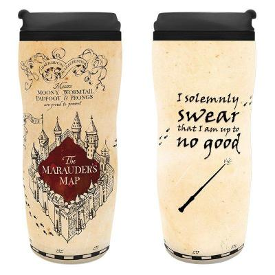 Harry potter tumbler 355ml marauder map