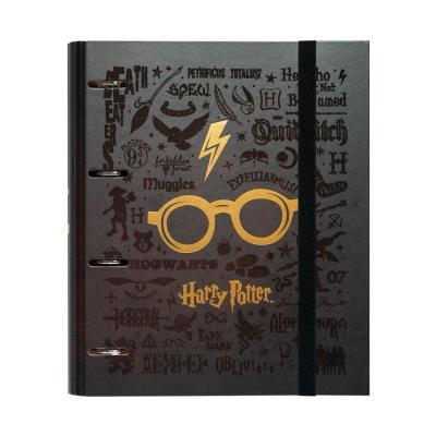 Harry potter vif d or classeur 4 anneaux 32x27 5cm