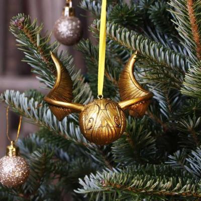 Harry potter vif d or decoration de noel 10 5cm