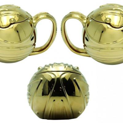 Harry potter vif d or mug 3d 450ml