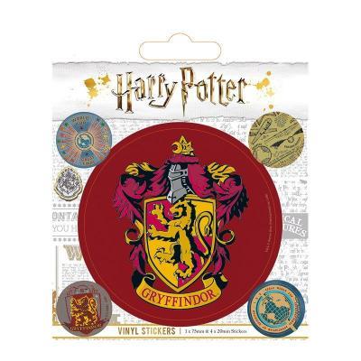 Harry potter vinyl stickers gryffindor