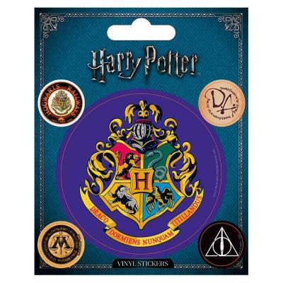 Harry potter vinyl stickers hogwarts