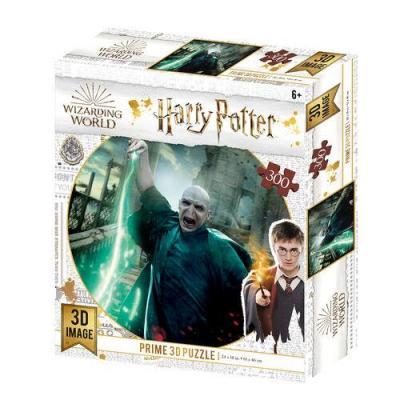 Harry potter voldemort puzzle lenticulaire 3d 300p 61x46cm