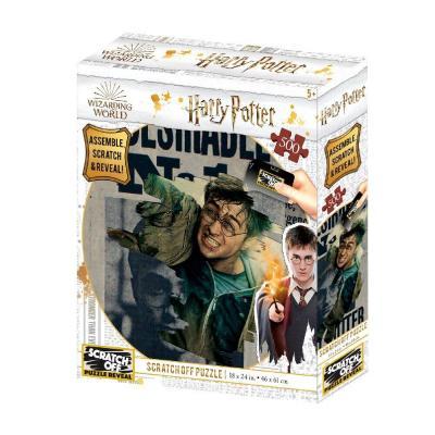 Harry potter wanted scratch puzzle 500p 61x46cm
