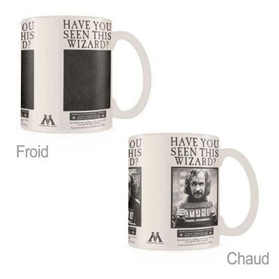 Harry potter wanted sirius black mug thermoreactif 315ml