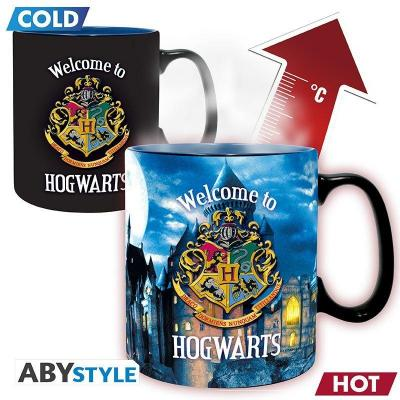 Harry potter welcome to hogwarts mug thermoreactif 460ml
