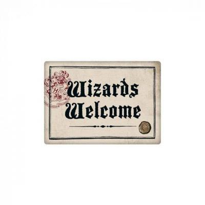 Harry potter wizards welcome aimant