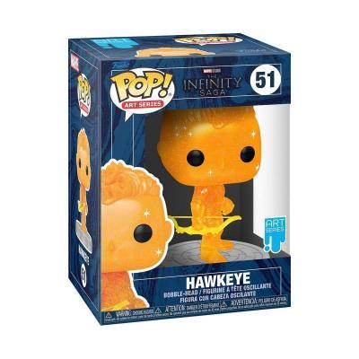 Hawkeye funko pop n 51 artist series marvel