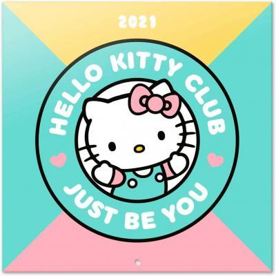 Hello kitty calendrier 2021 30x30cm