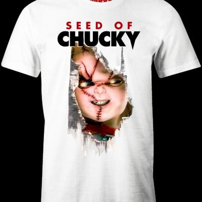Horror t shirt seed of chucky