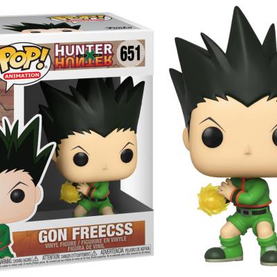 Hunter x hunter bobble head pop n 651 gon freecs jajanken