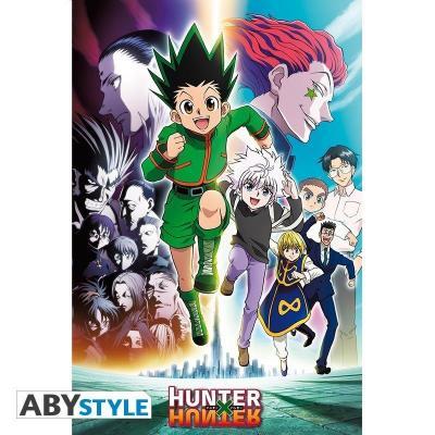 Hunter x hunter poster 91x61 brigade fantome 1