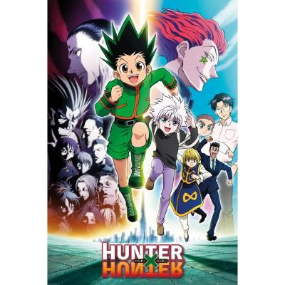 Hunter x hunter running poster 61x91 5cm